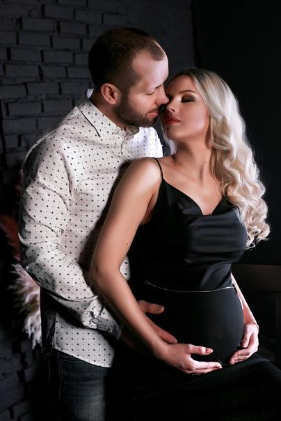 """Фотосессия беременности - """"я буду всегда рядом"""""""