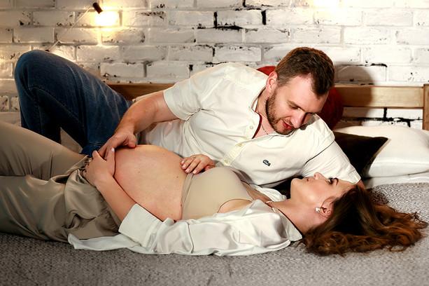 Романтическая фотосессия беременности