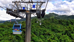 Un giro sulla Maokong Gondola