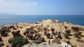 Il parco geologico di Yehliu