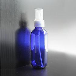 細霧噴頭 PET 波士頓藍色膠瓶 120ml