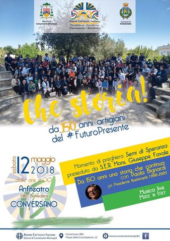 150 anni di Azione Cattolica, festa diocesana a Conversano