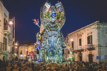 Carnevale di Putignano: il Carro premiato
