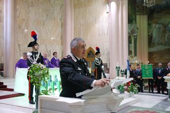I Carabinieri celebrano il Precetto Pasquale