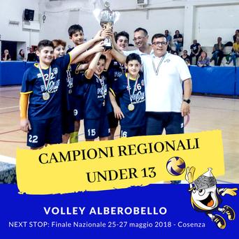 Pallavolo: l'Asd Volley 99 Alberobello campione regionale U13