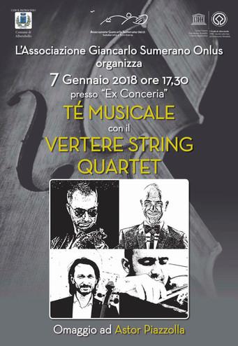 """L'Associazione """"Giancarlo Sumerano Onlus"""" commemora Astor Piazzolla"""