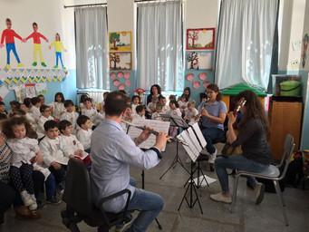"""Concerti di musica classica nelle Scuole dell'Infanzia """"Guarella"""" e """"Notarnicola&"""