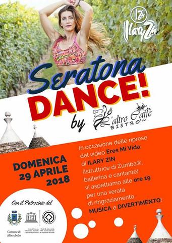 La Zumba di Ilary Zin che farà ballare Alberobello