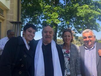 Lino Banfi ad Alberobello il 26 maggio