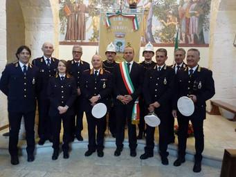 I Vigili Urbani celebrano San Sebastiano