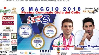 Campionati regionali Finp 2018: conto alla rovescia per Magnini e Boni