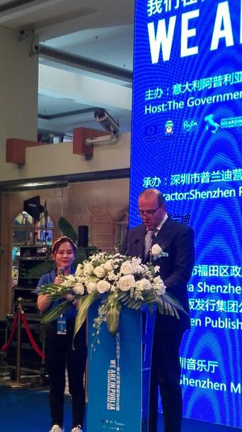 Il sindaco Longo in Cina con Regione e Anci Puglia