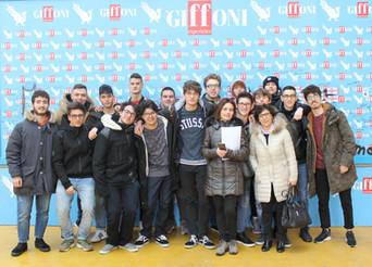 Una classe del Majorana al Giffoni Experience
