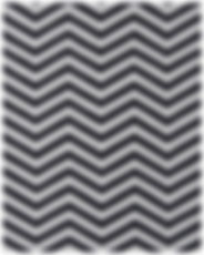 A sample carpet pattern. It has black and white zigzagged stripes