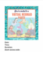 Virtual Party Invite Screenprint 0330202