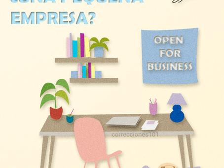 Corrección freelance: ¿una pequeña empresa?