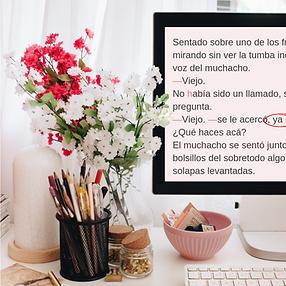 corrector de textos argentina novelas.pn
