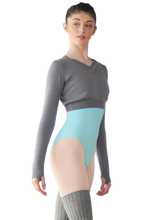 V neck Ballet Warm up Jumper