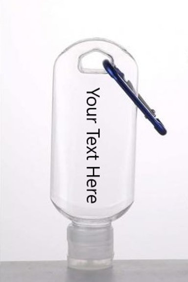 Sanitiser Bottle Keyring (50ml)