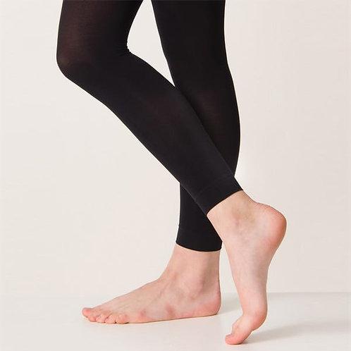 Silky Footless Tights