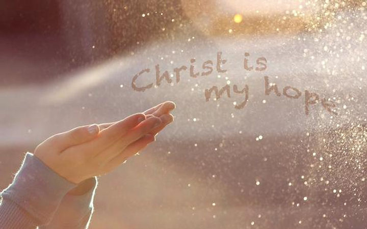 Christ is my hope
