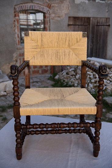 Exotischer Sessel