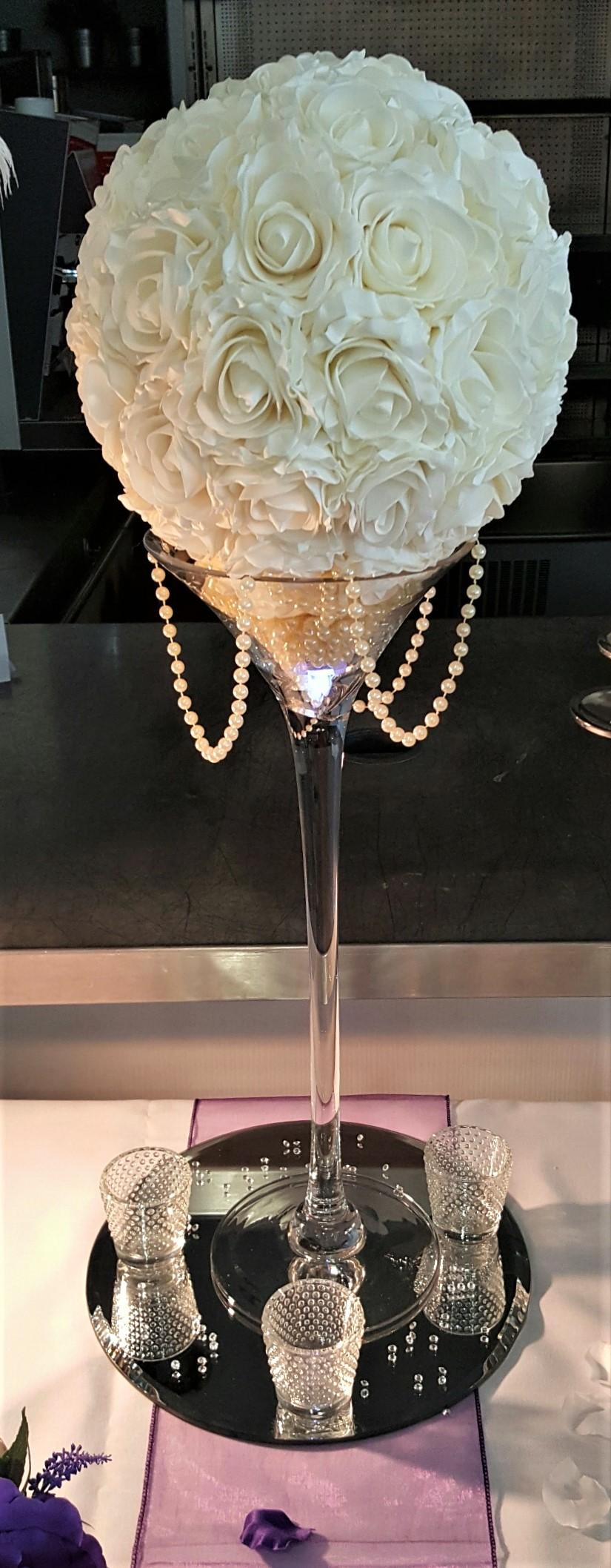 Martini vase pomander