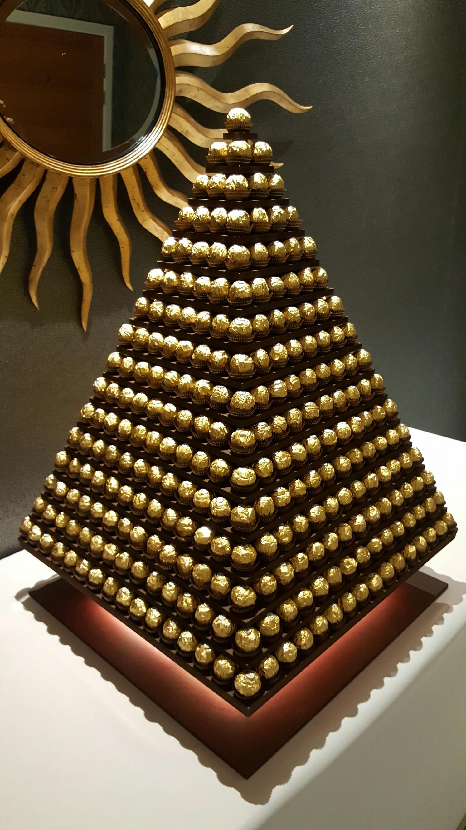 Pyramid Ferrero tower