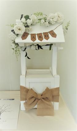 Wishing well post box