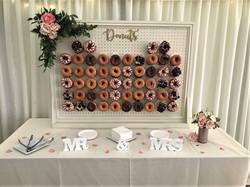 large ivory donut wall