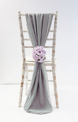 chiffon drapes in a range of colours