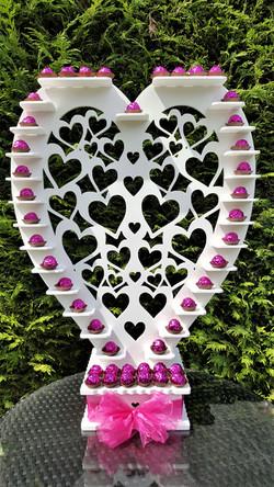 Large filigree Heart Ferrero Stand