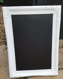 Ornate white framed £8