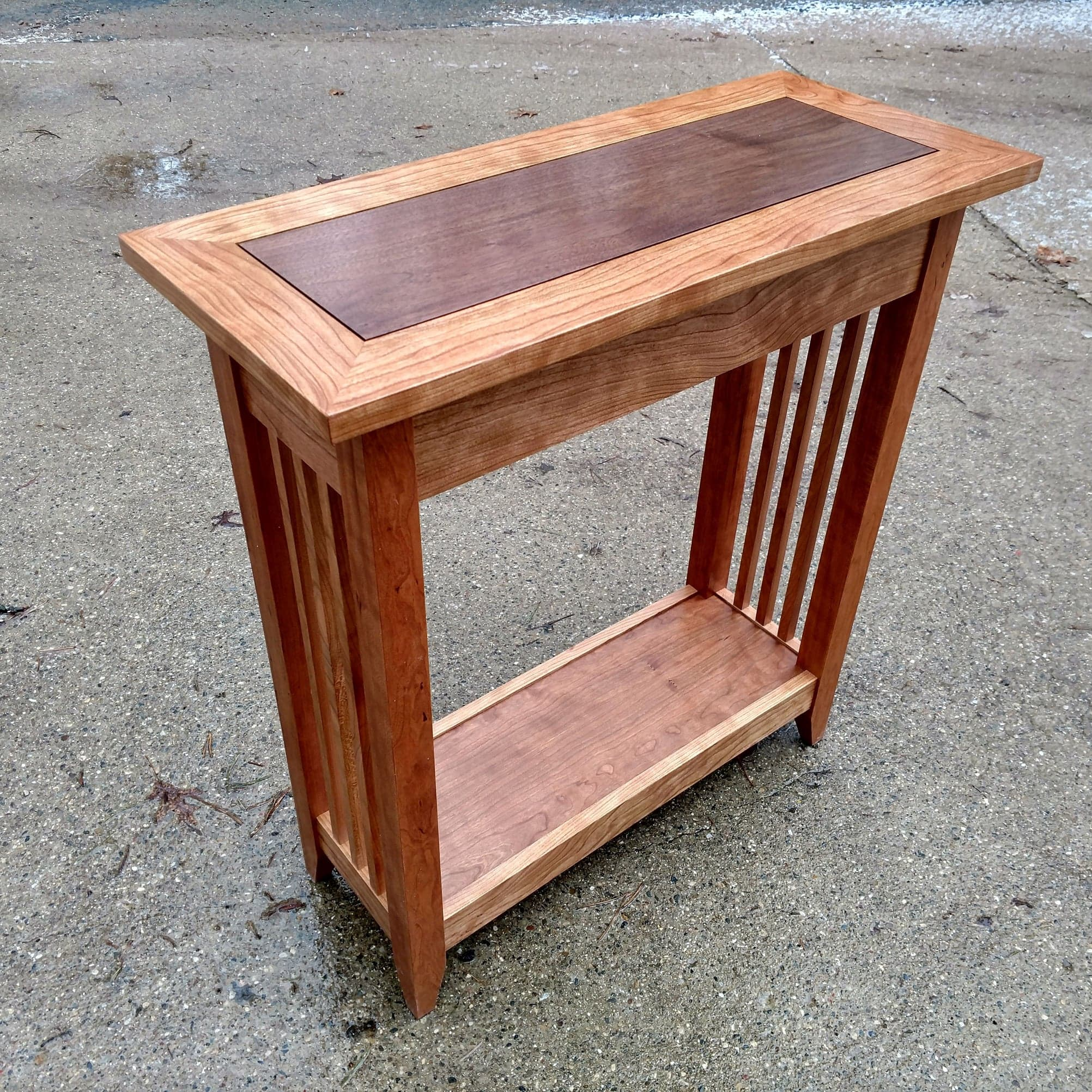 Cherry With a Walnut Insert
