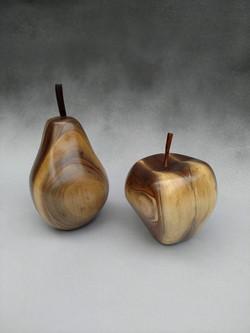 Walnut, heartwood and sapwood