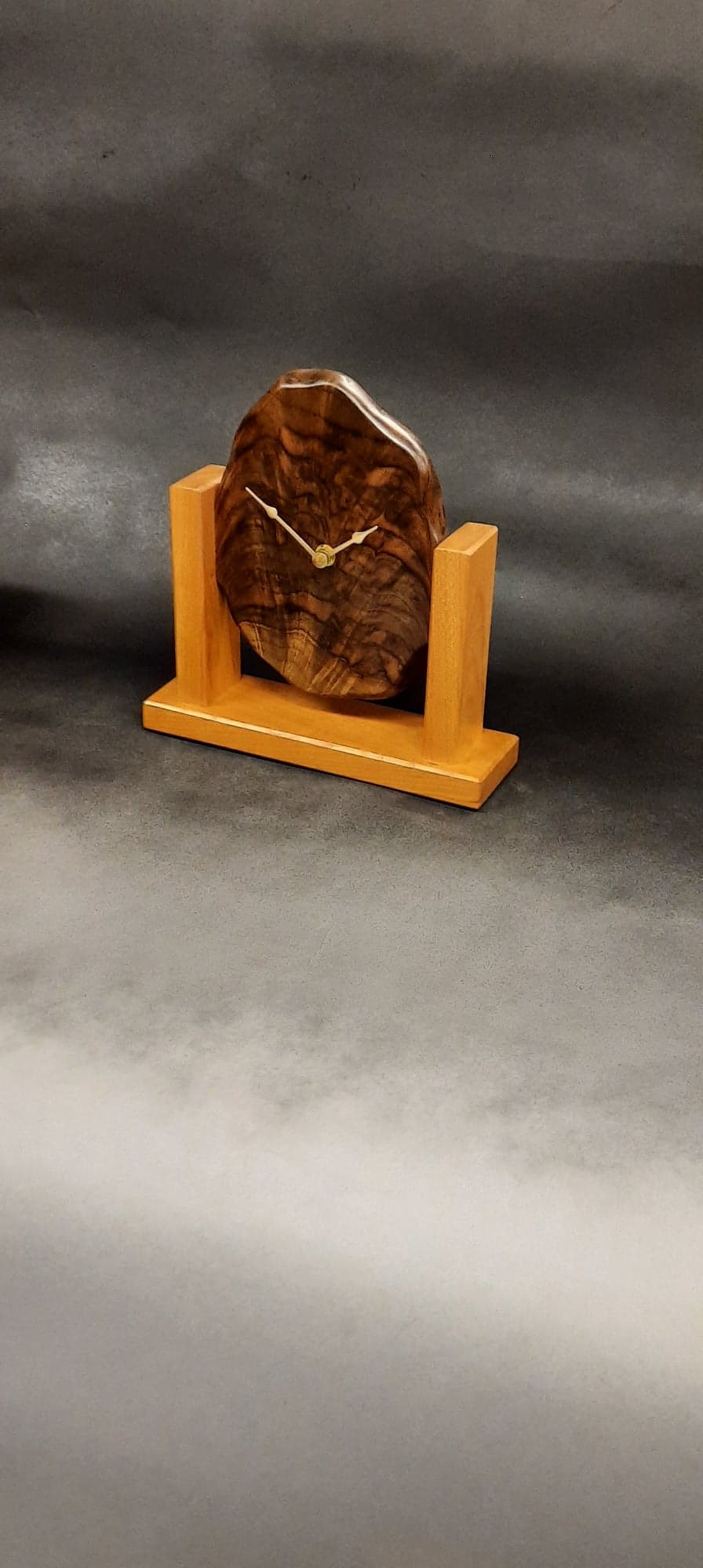 Figured walnut w/ cherry base