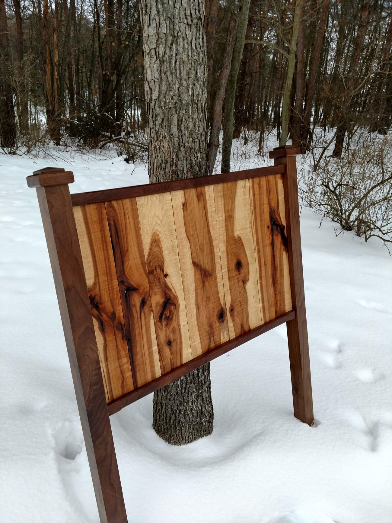 Walnut With Rustic Hickory