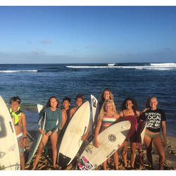 Just wrapped up an awesome week long #surf #training #camp with this amazing crew of groms