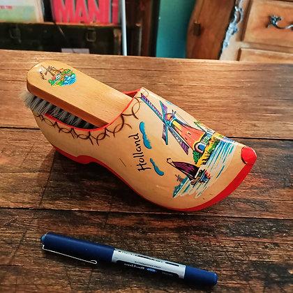 Ahşap,El Boyama,Holland, Ayakkabı Fırçası(23cmX14cm)