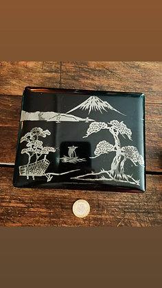 Uzakdoğu Papier Mache Kutu(17cmX13cm, yükseklik:5cm)