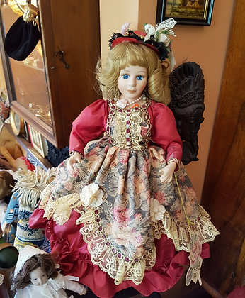 Victorian (dolls) El YapımYapımı Bebek(Boy:46cm)