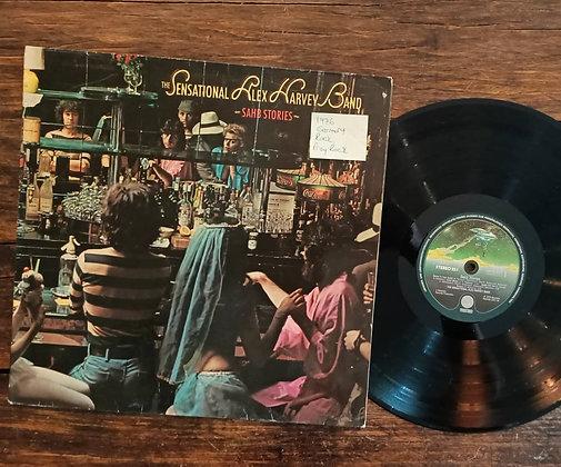 The Sensatıonal Alex Harvey Band,Sahb Storıes Lp.Prog Rock Lp(1976, Germany)