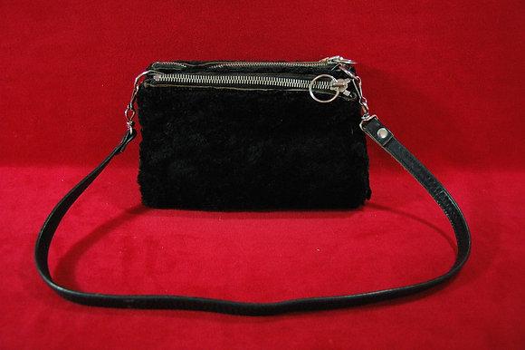 Vintage Siyah Kışlık Çanta