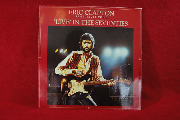 Eric Clapton ,Timepieces Vol. II - 'Live' In the s