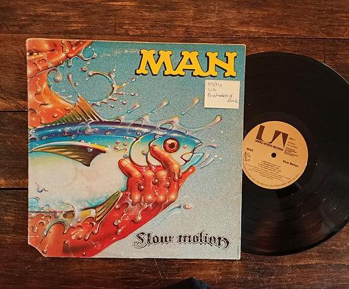 Man,Slow Motion Lp(1974,US, Psychedelic Rock Lp)