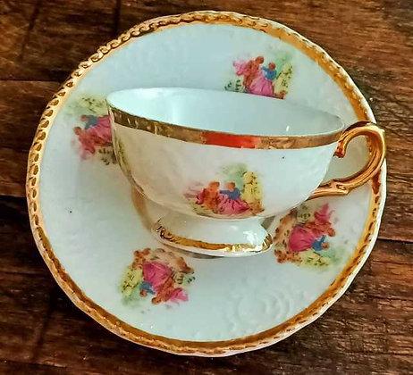 Fragonard,Fine Porcelaine,Türk Kahvesi Fincanı