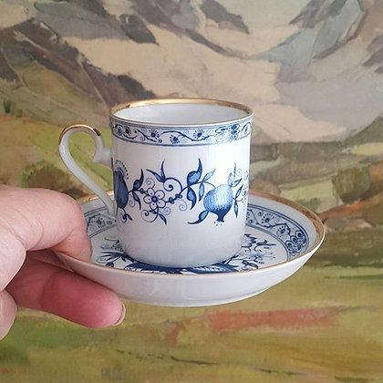 Bavarıa Mavi Fincan (Royal Franconıa)