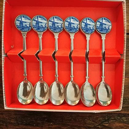 Kutusunda,Holland,6'lı Çay Kaşığı Seti
