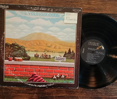 The Youngbloods,Elephant Montaın Lp(1976,US)