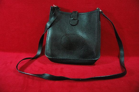 Vintage Siyah Deri Çanta